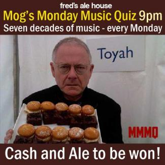Mogs Monday Music Quiz