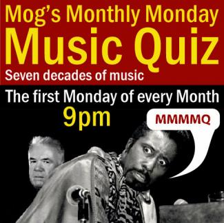 Mog's Monthly Monday Music Quiz